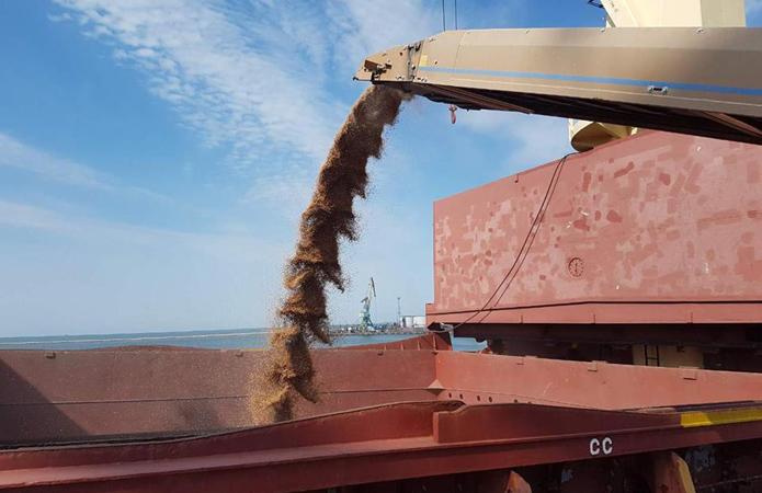 Экспорт зерна отстает от графика прошлого сезона почти на 9 млн тонн