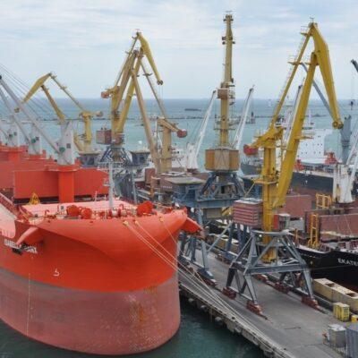 В январе-августе Одесский порт сократил грузооборот на 3,8%
