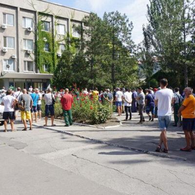 Коллектив госстивидора БМТП провел митинг против сокращений