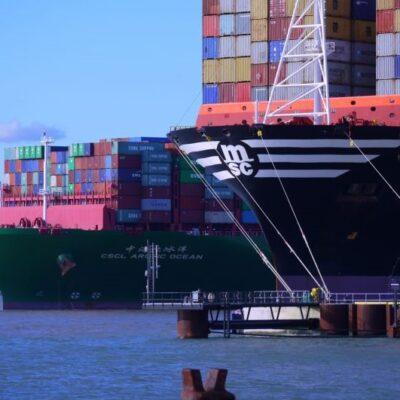 Сбой системы тайм-слотирования терминала Hutchison Ports снова стал причиной заторов в порту Феликстоу