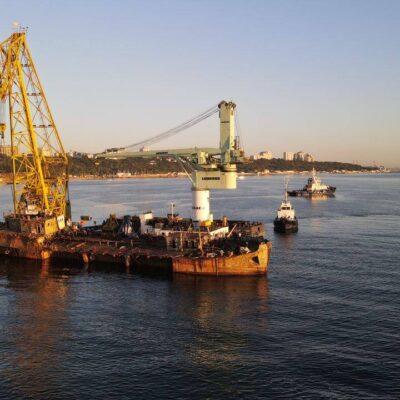 Подъем и эвакуация аварийного танкера Delfi обошлись в $500 тыс. — МПУ