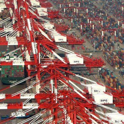 В январе-августе порт Шанхай сократил контейнерооборот на 4,7%