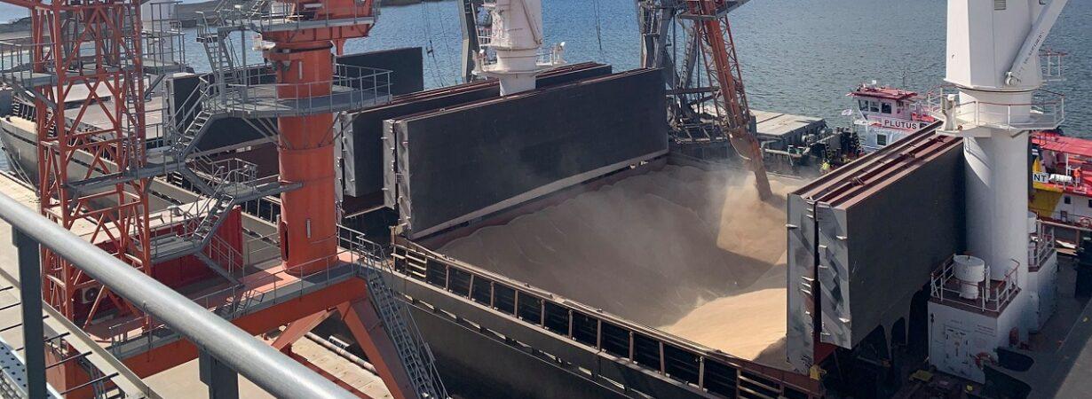 Экспорт зерна преодолел двухмиллионный рубеж с начала сезона
