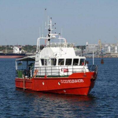ГП «ОМТП» выполнит доковый ремонт буксира и гидрографического катера