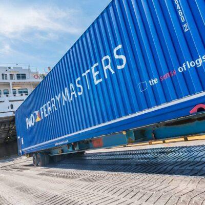 P&O Ferrymasters внедряет систему отслеживания контейнеров
