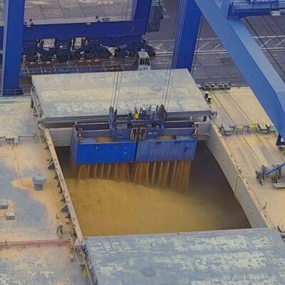 Экспорт зерна превысил 10 млн тонн с начала сезона
