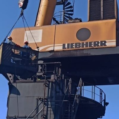 Госстивидор «Южный» возобновил эксплуатацию портального крана Liebherr после ремонта