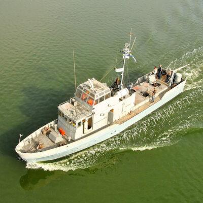 НСЗ выполнил ремонт противодиверсионного катера ВМС Украины