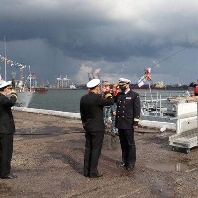 В порту «Пивденный» открыли пункт базирования патрульных катеров ВМС Украины