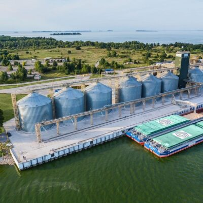 Витовский речной терминал «Нибулона» превысил миллионный рубеж приема агропродукции