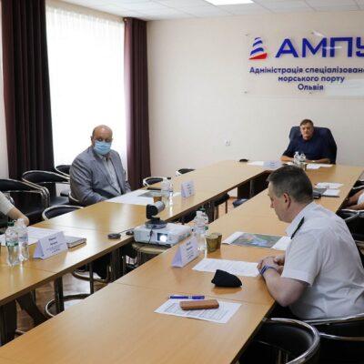 Проект Плана развития порта «Ольвия» получил поддержку Совета порта