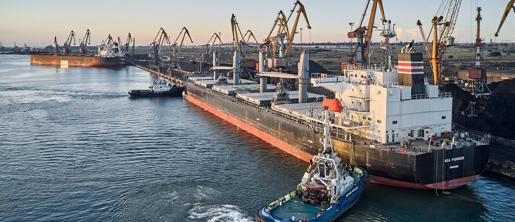 В январе-сентябре морпорты увеличили грузооборот на 3,7%