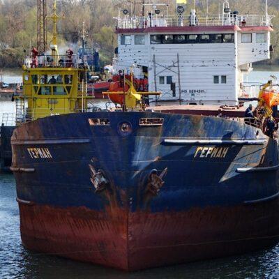«Дунайсудосервис» выполнил промежуточный ремонт сухогруза «Герман»