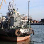 Мариупольский порт отправил на доковый ремонт судно «Сборщик-387»