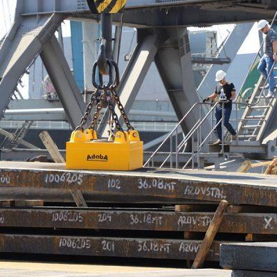 С начала года госстивидор ММТП перегрузил 2,75 млн тонн слябов