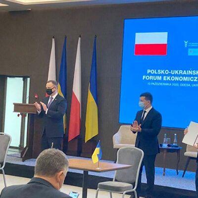 Подписан меморандум о развитии коридора между портом Гданьск и черноморскими портами Украины