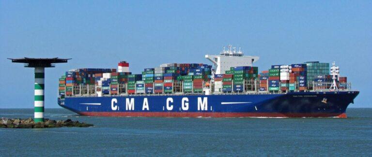 В августе рынок морских контейнерных перевозок вырос на 1,5%
