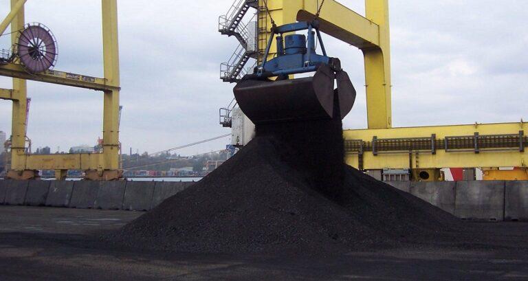 В январе-сентябре импортировано 12,7 млн тонн угля на $1,3 млрд — ГТС