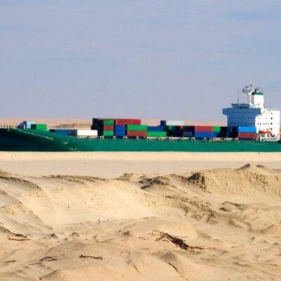В первом полугодии Суэцкий канал сократил контейнерный трафик на 15%