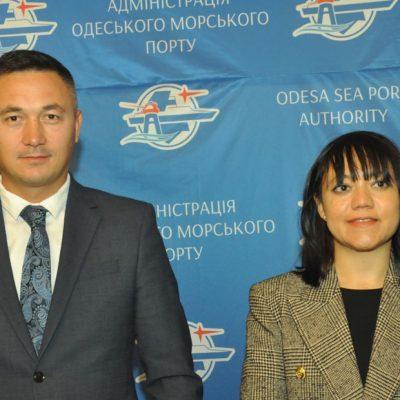 Торговый атташе Генконсульства Турции в Одессе знакомилась с возможностями Одесского порта