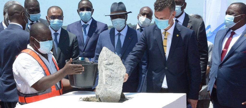 В Кот-д'Ивуаре началось строительство контейнерного терминала для APM Terminals и Bolloré