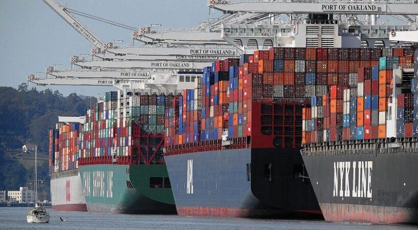 Глобальный рынок контейнерных перевозок вырос на 11% в первом квартале