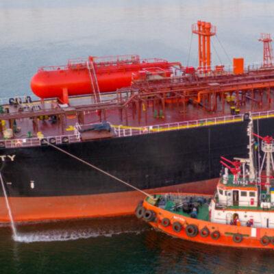 В порту «Пивденный» опровергли сообщения об аварии с газовозом