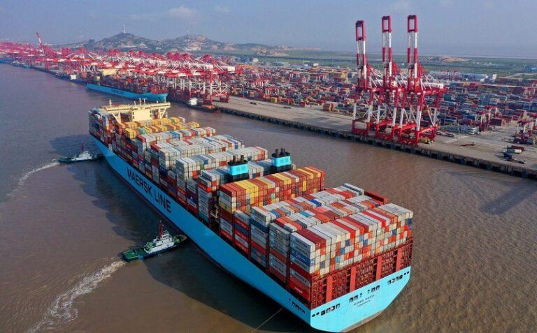 В сентябре порты Китая увеличили грузооборот на 3%