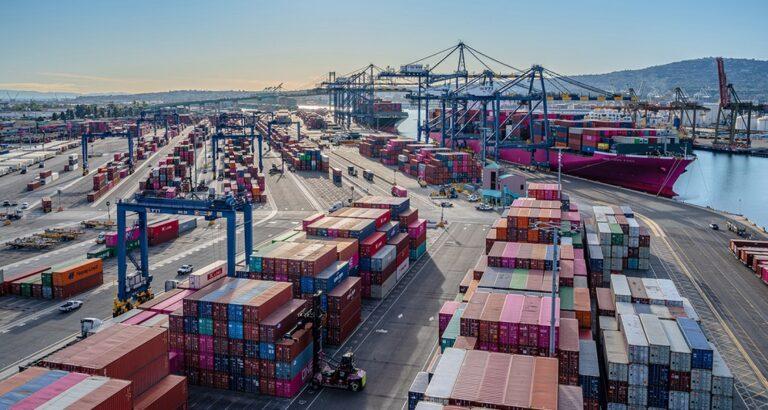 Контейнерный импорт через крупнейшие порты США бьет рекорды