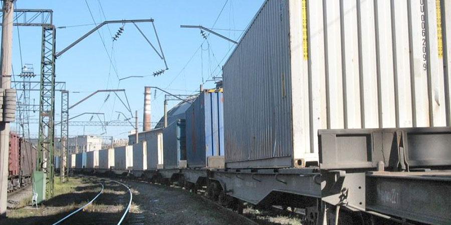 В Киев прибыл первый контейнерный поезд из Китая по новому маршруту