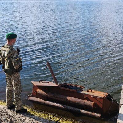 В Одесской области пограничники обнаружили подводную лодку контрабандистов