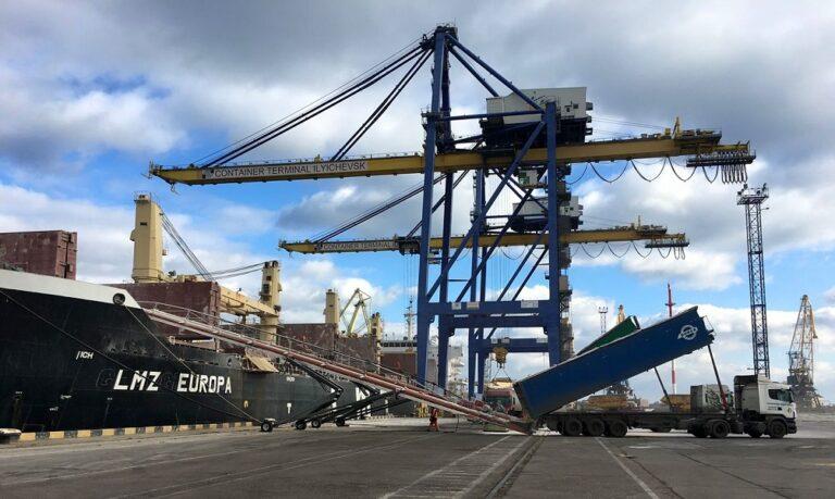 МИУ готовится провести тендер на разработку ТЭО контейнерного терминала порта «Черноморск» — Криклий