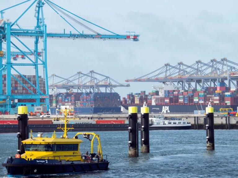 Крупнейший порт Европы увеличил контейнерооборот на 9% в первом полугодии