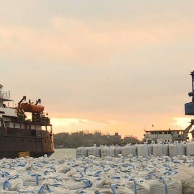 «Запорожкокс» освоил поставки пека речным транспортом в Турцию