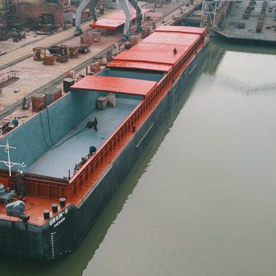 «Дунайсудосервис» достраивает очередную баржу по заказу «Грейн-Трансшипмента»