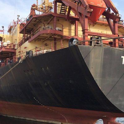 Судозаходы: шесть топовых судов Херсонского порта в октябре