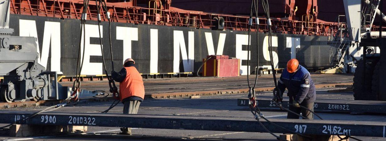 ММТП загрузил металлом одновременно пять судов