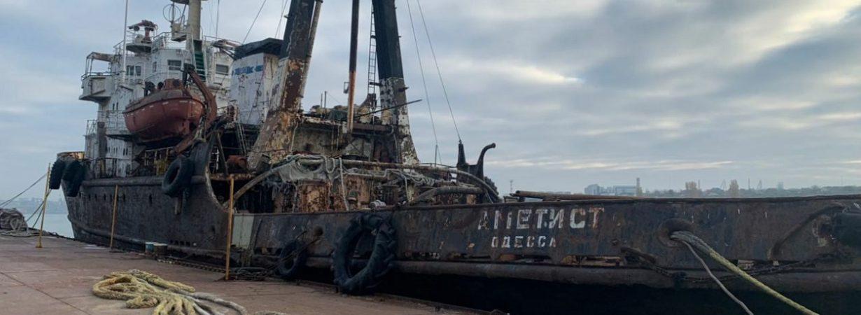 АМПУ скрыла факт разлива нефтепродуктов в порту «Черноморск» — Госэкоинспекция