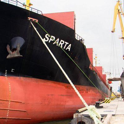 В Мариупольском порту причал №4 принял первое судно после реконструкции