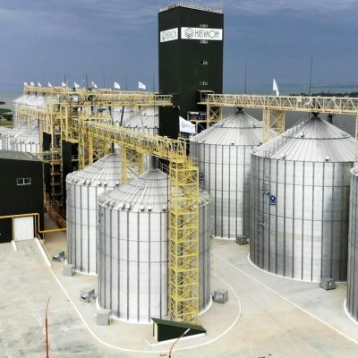 Речной терминал «Нибулона» на Днепропетровщине принял первые 100 тыс. тонн зерна
