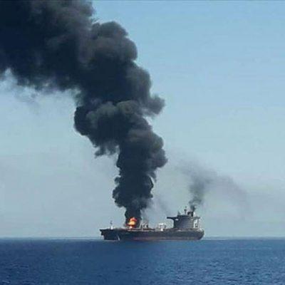 У берегов Саудовской Аравии взорвался танкер. Власти обвинили повстанцев
