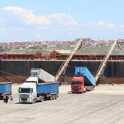 Экспорт зерна уступает прошлогоднему объему на 16%