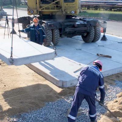 Госстивидор «Южный» расширяет дорогу под крупногабаритные грузы