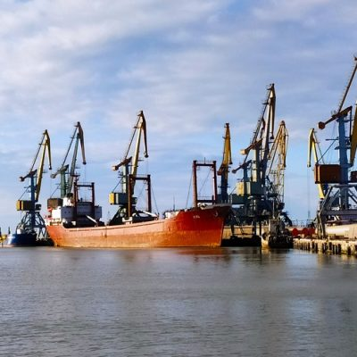 Бердянский порт сохраняет положительную динамику благодаря росту перевалки зерна