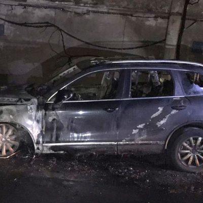 Неизвестные сожгли авто владельца журнала «Судоходство»