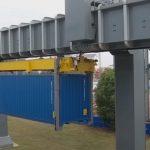 В порту Циндао инновационная система перемещения контейнеров заменит грузовики