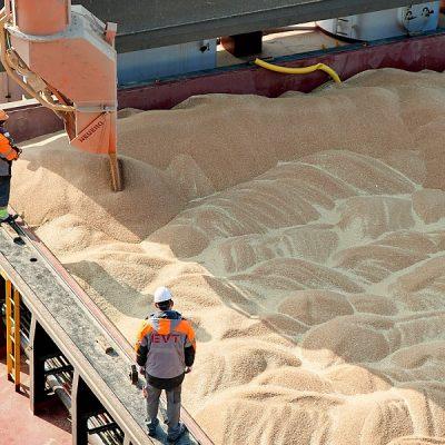 Терминал ЕВТ перевалил миллионную тонну зерна с начала сезона