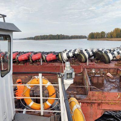 «Госгидрография» сняла сезонные буи на Припяти и Киевском водохранилище