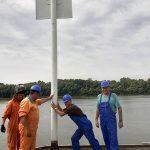 «Госгидрография» обновила навигационные знаки на Дунае