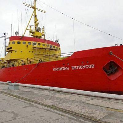 АСРЗ подготовил единственный ледокол Украины к зимней навигации